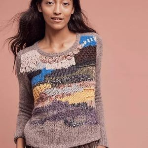 Knit by Dollie Anthro sweater